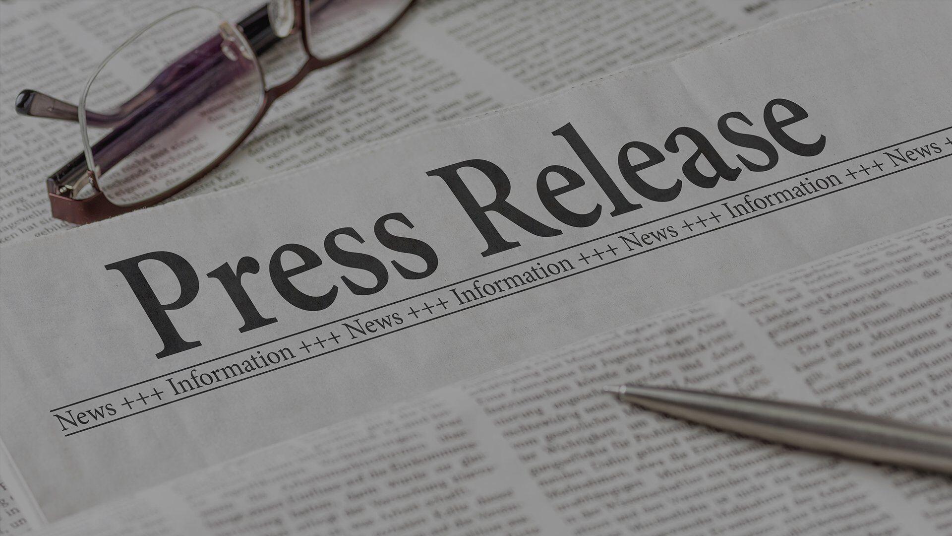 Press release – service providers